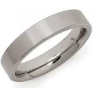 Boccia titanium ring glad/mat 4,5 mm breedte 0121-03 - 204696