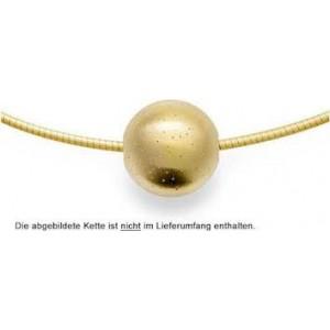 Bastian hanger, geelverguld gediamanteerde bol - 208174