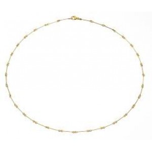 14 krt geelgouden Lapponia collier 45 cm refnr : 123885 - 204955