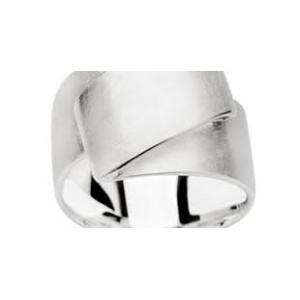"""Bastian Zilveren ring """"zig-zag - 207970"""