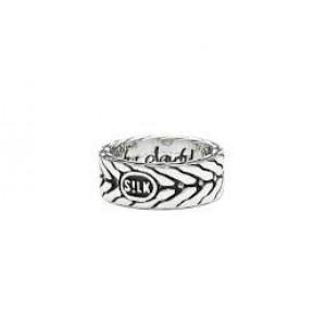 zilver geoxydeerde Silk fantasie ring;167.20 - 212512