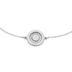 SPIRIT ICONS, Armband IRIS, zilver met zirkonia - 206880