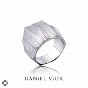 Daniel Vior zilveren ring model Tibris - 207161