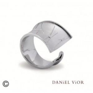 Daniel Vior zilveren ring model Emet - 207165
