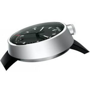 Bolido design horloge, automaat swiss made, model Pure met een stalen kast welke zwart gecoat is aan beide zijde's een saffierglas - 211083