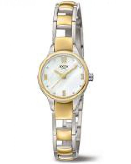 Boccia bicolor titanium dames horloge;  modelnr : 3277-02 - 210169