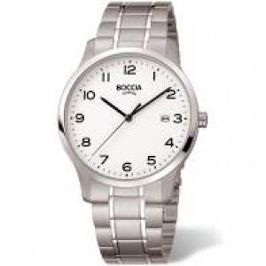 Boccia titanium horloge lichte duidelijkw wijzerplaat met arabische index,refnr : 3620-01 - 212528