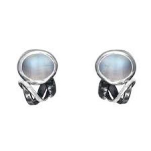 Rabinovich Zilveren oorsieraden met maanstenen - 200979
