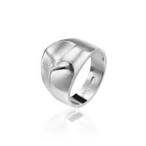 """Zilveren Lapponia ring """" Foibe """" 650083 ontworpen door Björn Weckstrom maat 57 - 211673"""