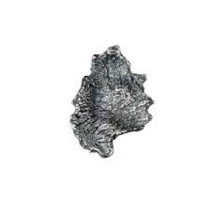 zilveren Lapponia oorsteker uit de The KUU collectie geoxydeerd zilver ontworpen door Martin Bergström - 209086