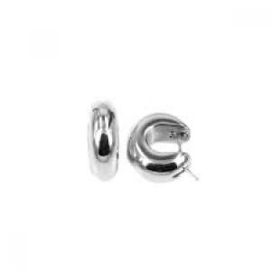 MONZARIO ARGENTO zilveren fantasie klapcreolen, ARG O890 - 212666
