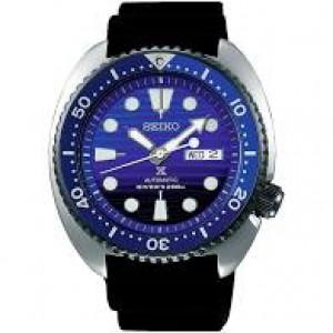 Seiko automaat Prospecs Diver special edition met zwarte siliconenband , blauwe lunette en blauwzwart wijzerplaat SRPC91K1 - 208909