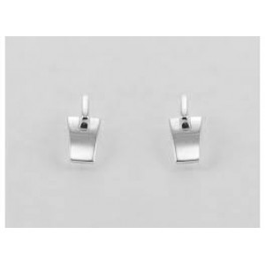 NOL handgesmede zilveren oorstekers, model ag 81827.4 - 28268