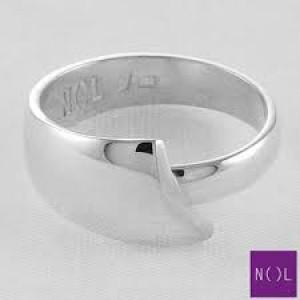 NOL handgesmede zilveren ring, model ag90106.10 - 300388