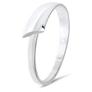 NOL handgesmede zilveren a-symetrische armband - 33430