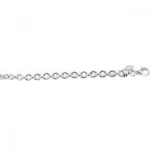 MONZARIO ARGENTO zilveren collier model; nr. 175c - 201707