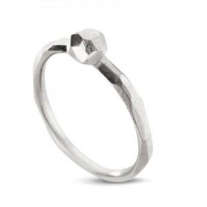 "14 krt witgouden design Equiv ring model "" Understatement "" gepolijst - 209860"