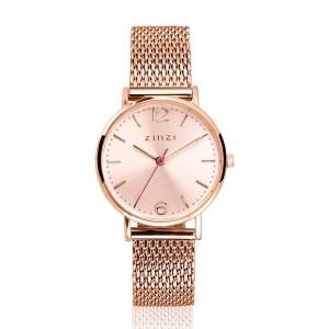 Zinzi lady horloge rosé doublé met rosé wijzerplaat - 207279